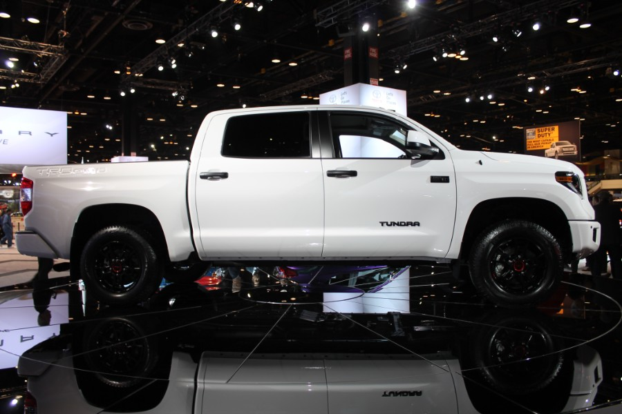2019 Toyota TRD Pro Series Models Chicago Auto Show Photo ...