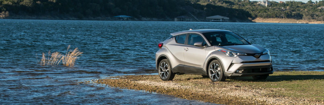 2018 Toyota C-HR-Exterior Passenger Side Front Profile on an