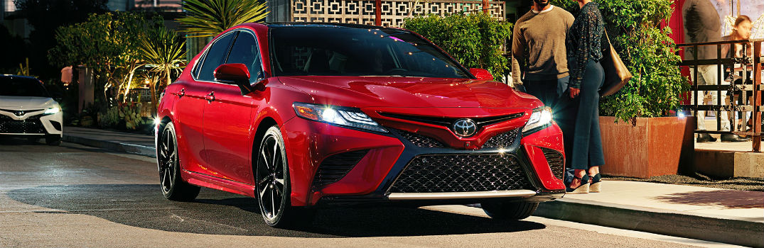 Good ... 2018 Toyota Camry Exterior Passenger Side Front Angle
