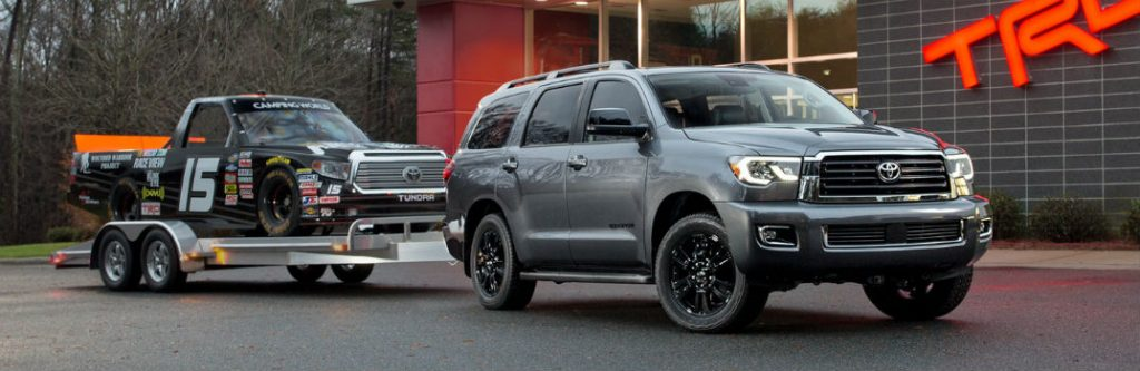 how much can the 2018 toyota sequoia models tow. Black Bedroom Furniture Sets. Home Design Ideas