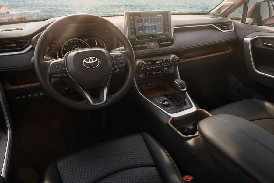 2019 Toyota Rav4 Limited Interior O Hiland Toyota