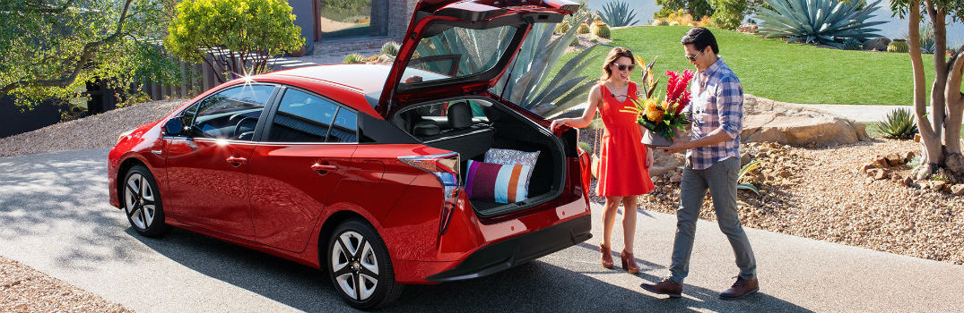 2018 Toyota Prius Exterior Driver Side Rear Angle