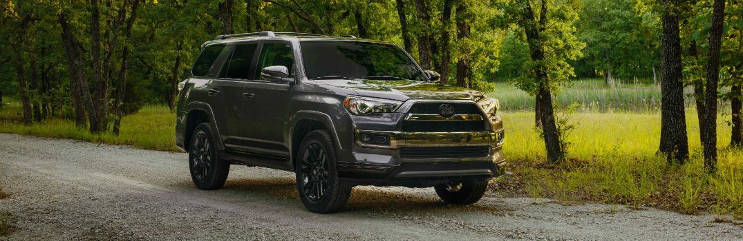 2019 Toyota 4Runner Nightshade Exterior Passenger Side Front Angle