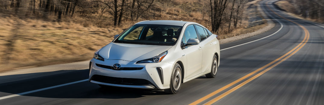 2019 Toyota Prius Exterior Driver Side Front Profile