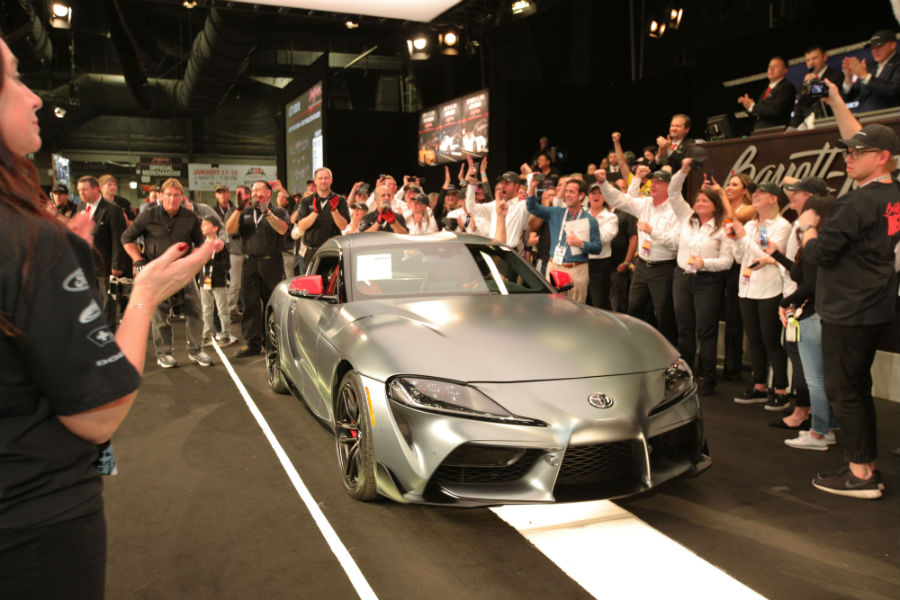 how much did the first 2020 toyota supra cost? - hiland toyota