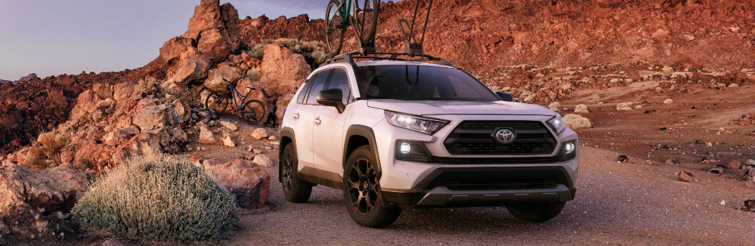 Pictures of the 2020 Toyota RAV4 TRD Off-Road