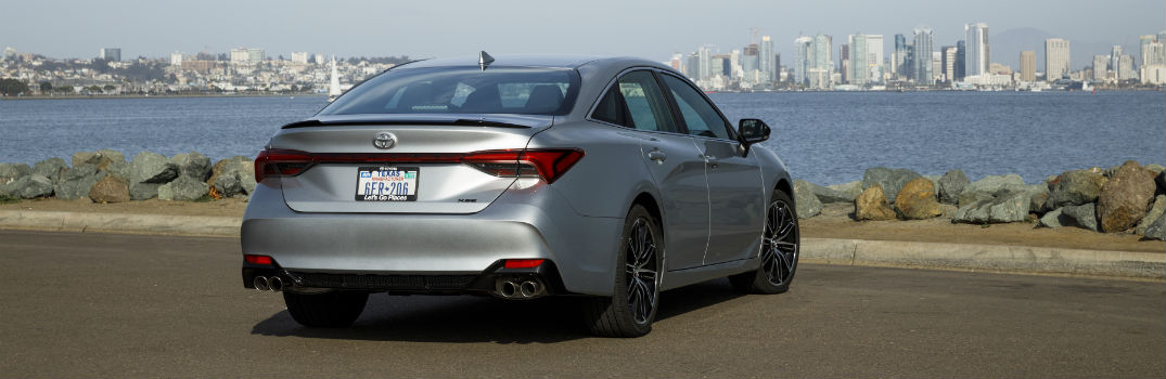 2019 Toyota Avalon XSE Exterior Passenger Side Rear Angle