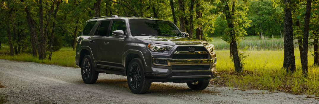 2019 Toyota 4Runner Nightshade Exterior Passenger Side Front Profile