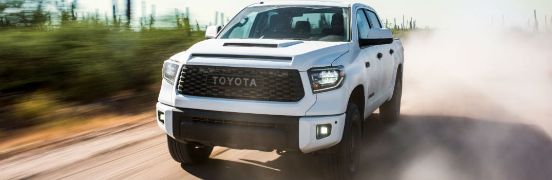 2019 Toyota Tundra TRD Pro Series Exterior Driver Side Front Angle