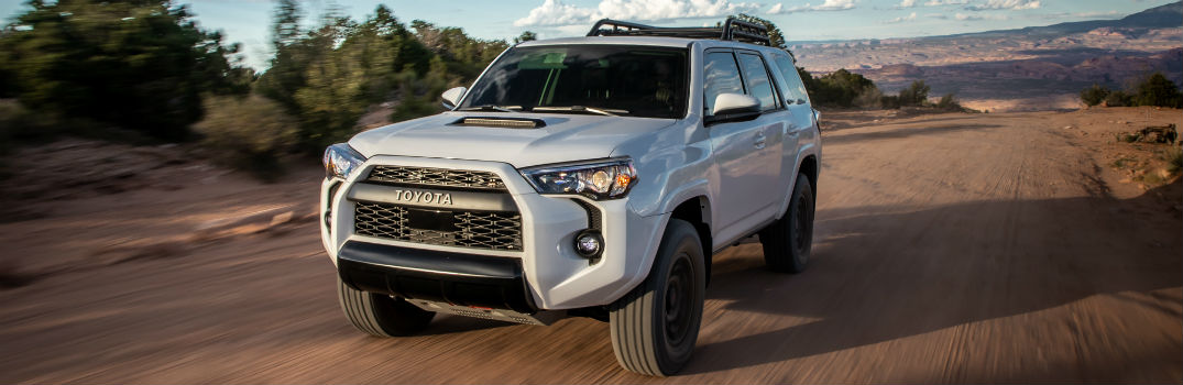2020 Toyota 4Runner TRD Pro Exterior Driver Side Front Angle