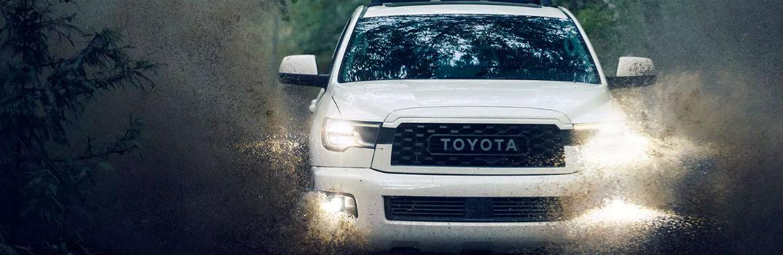 2020 Toyota Sequoia front exterior profile