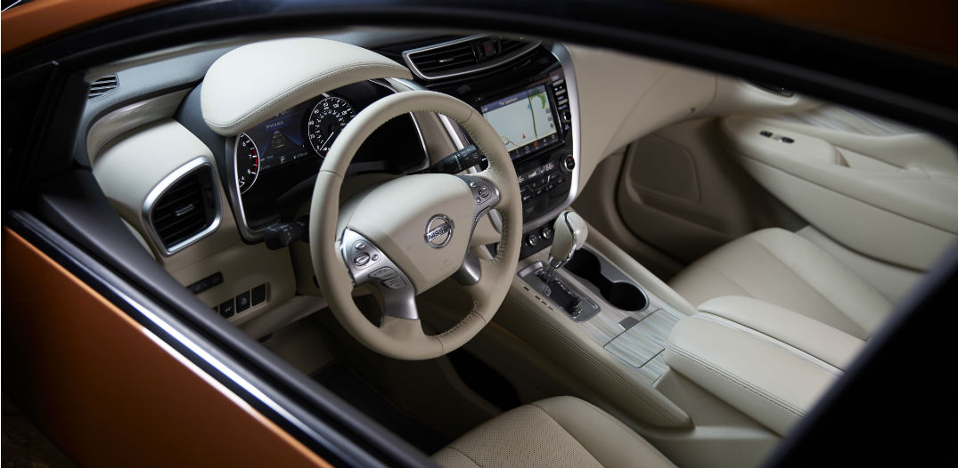 Nissan Murano Named In 2015 Best Cars For Families List » 2015 Nissan  Murano Interior