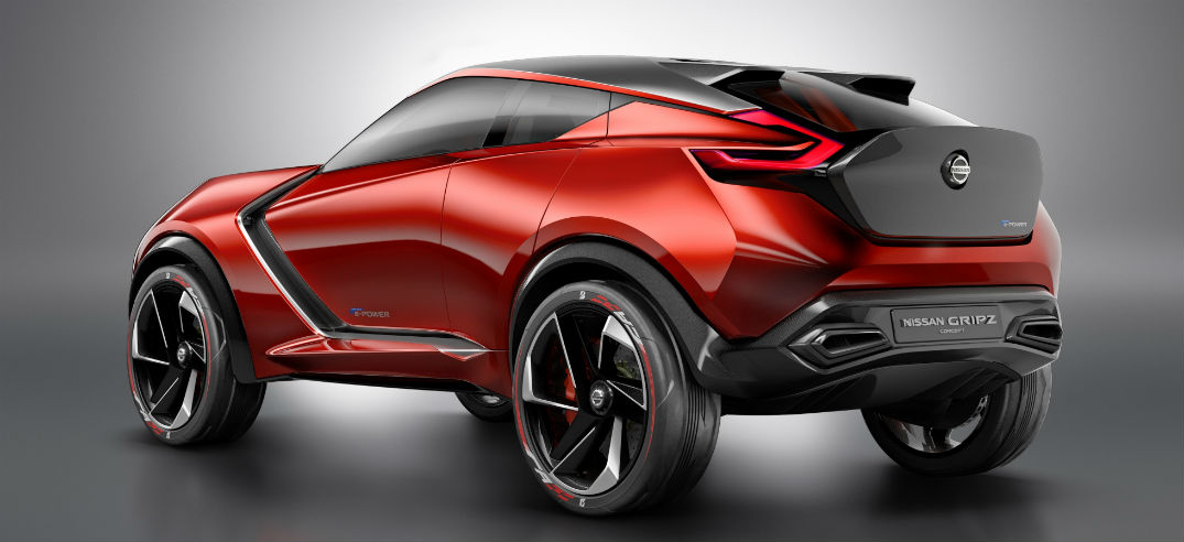 Mysterious Nissan revealed as 370Z-inspired Gripz Concept crossover