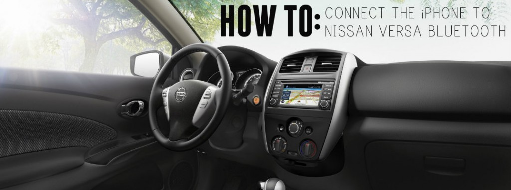 How to connect iPhone to Nissan Versa Bluetooth