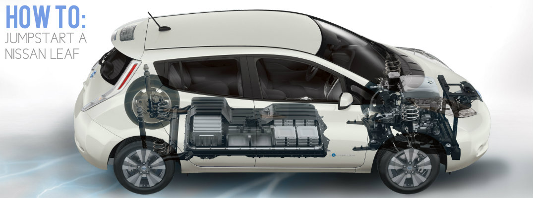 How to jumpstart a 2016 Nissan LEAF