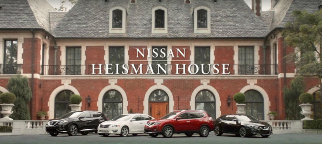 Just Brakes Coupons >> 2016 Nissan Heisman House Commercials