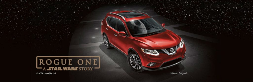 Nissan Rogue One Star Wars Promotion