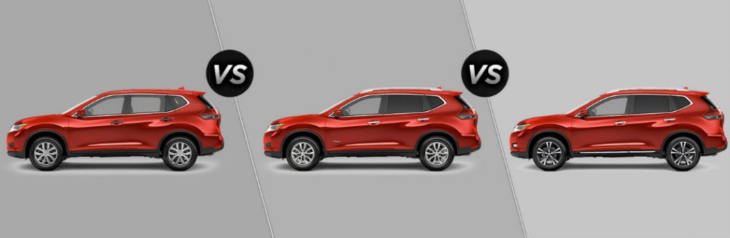 2017 nissan rogue trim level comparison. Black Bedroom Furniture Sets. Home Design Ideas