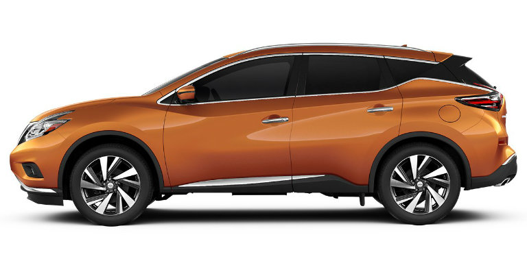 2017 Nissan Murano in Pacific Sunset
