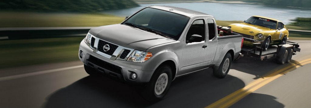 2017 Nissan Frontier Towing Capacity