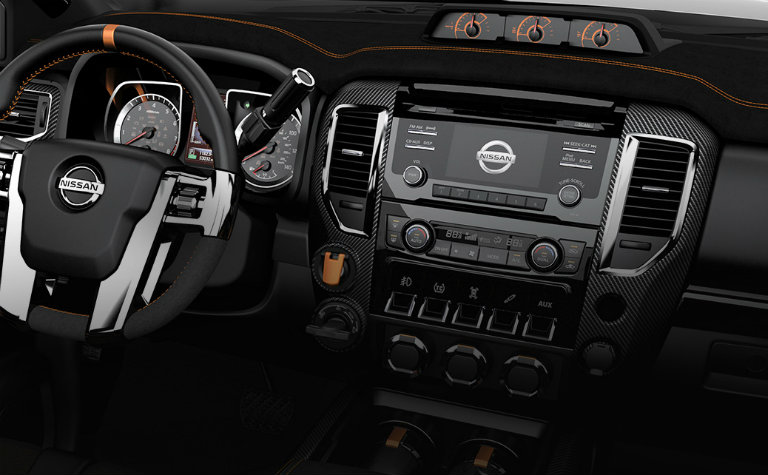 2017 Nissan Titan Warrior interior upgrades_o - Matt ...