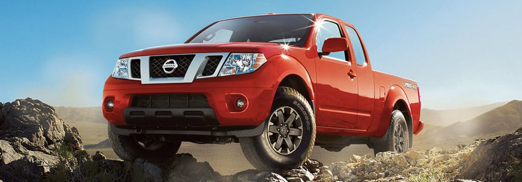 2017 Nissan Frontier cargo capacity and passenger space