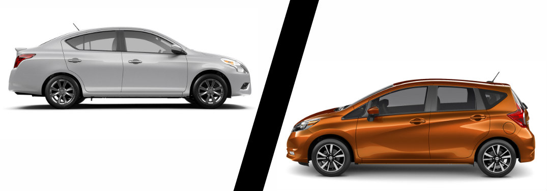 2017 Nissan Versa Sedan vs 2017 Nissan Versa Note
