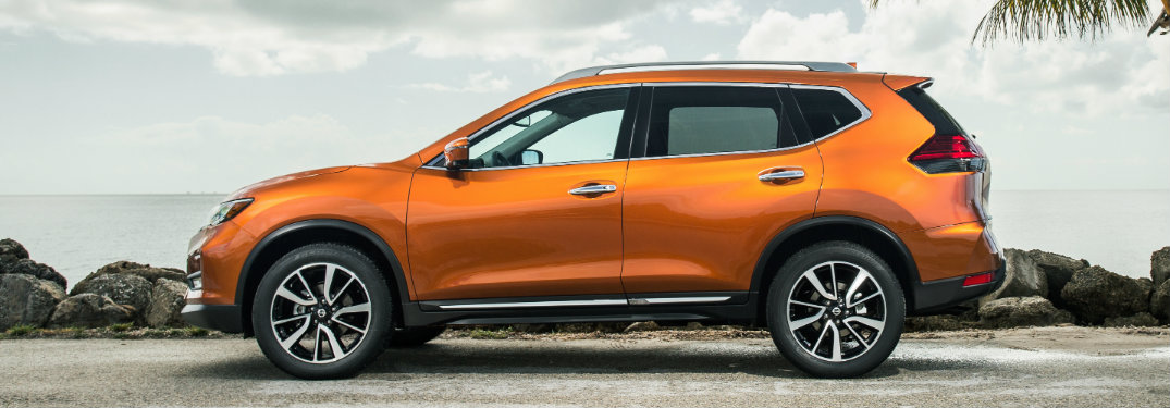 What is the pricing for the 2018 Nissan Rogue?