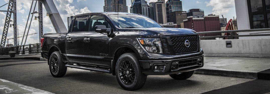 Image result for 2019 nissan titan midnight edition