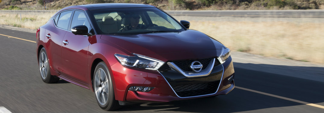 2018 Nissan Maxima front grille design
