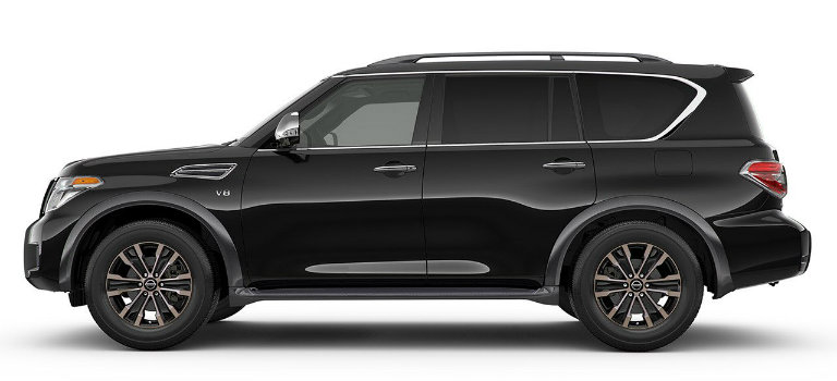 2018 Nissan Armada Exterior Color Options