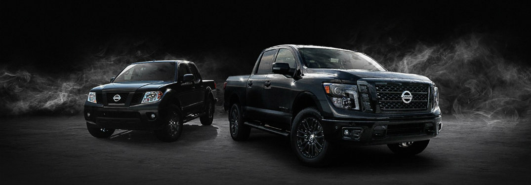 2018-Nissan-TITAN-and-2018-Nissan-Frontier-in-Midnight-Edition