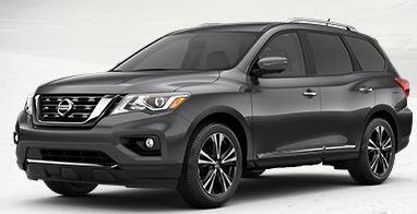 2018 Nissan Pathfinder Color Choices