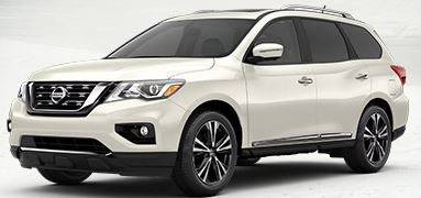 2018 Nissan Pathfinder Color Choices