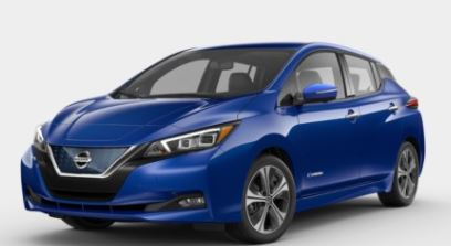 2018 Nissan Leaf Color Options
