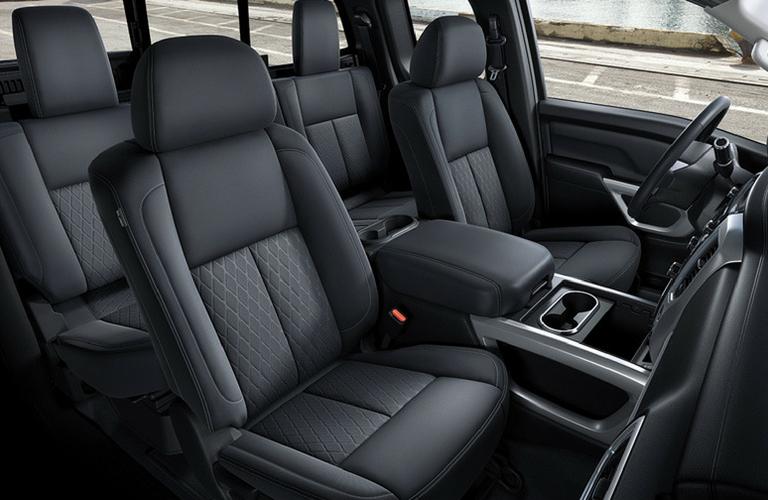 2018 Nissan Titan XD seat view