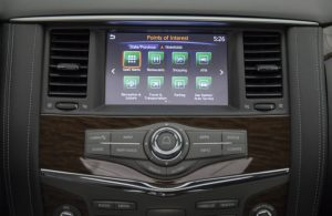 nissan connect infotainment monitor