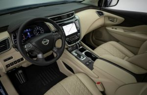 front seats, steering wheel inside nissan murano