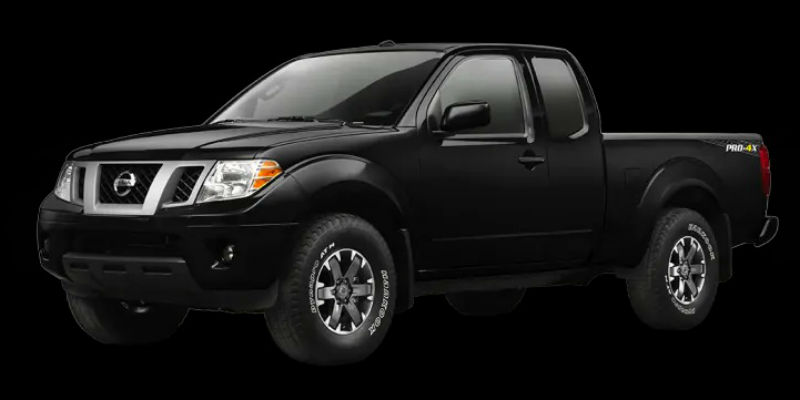 20109 Nissan Frontier in Magnetic Pearl Black