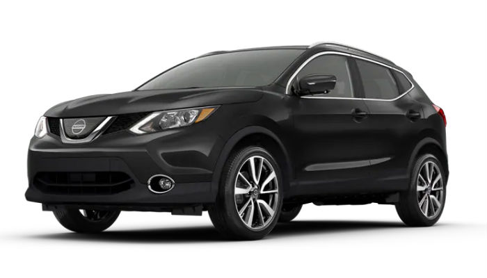 2019 Nissan Rogue Sport in Magnetic Black Pearl