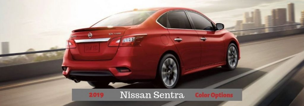 How Many Paint Color Options Does the 2019 Nissan Sentra Have?