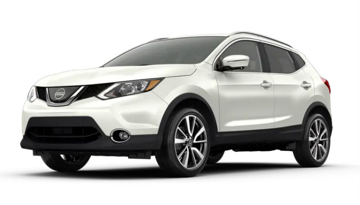 2019 Nissan Rogue Sport in Pearl White Tricoat