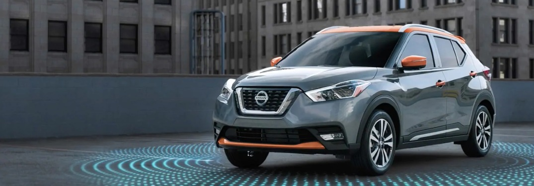 2019 Nissan Kicks parked in a lot