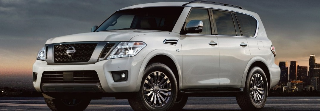 List of 2019 Nissan Armada Safety Features