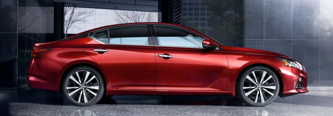 2020 Nissan Altima from the side