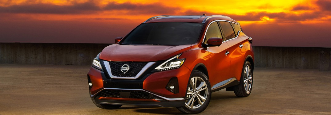 2020 Nissan Murano parked in a field