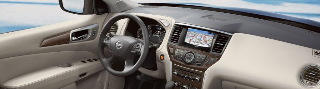 2020 Nissan Pathfinder dashboard