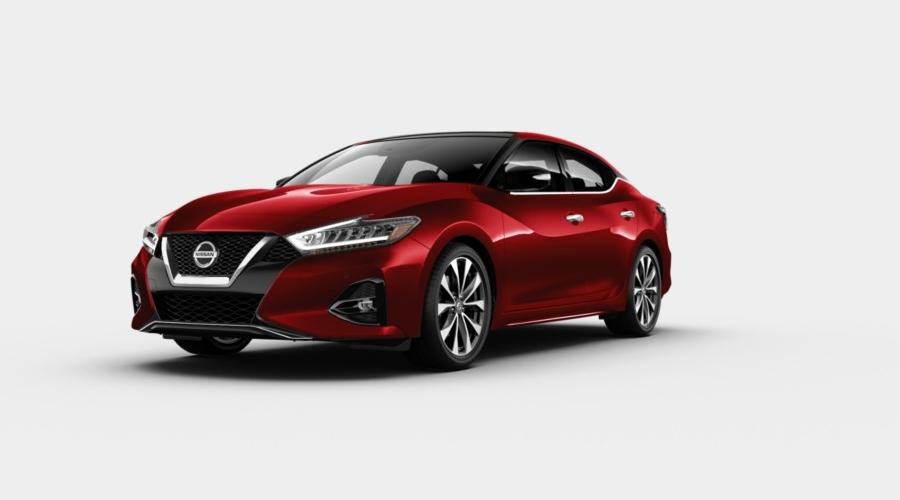 2020 Nissan Maxima Carnelian Red Tintcoat