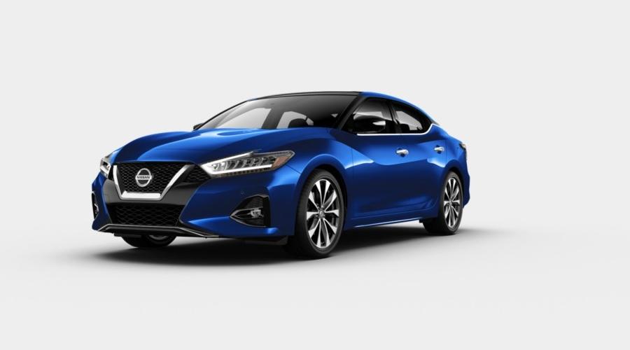 2020 Nissan Maxima Deep Blue Pearl