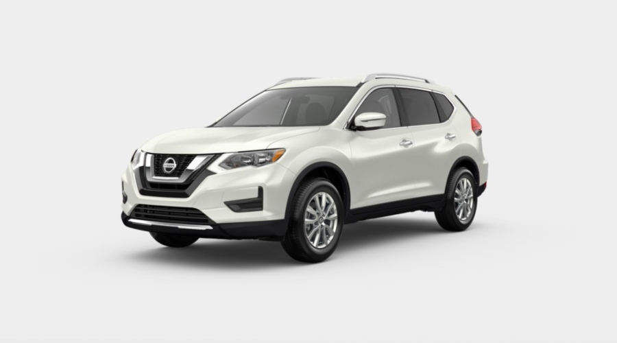 2020 Nissan Rogue Pearl White Tricoat